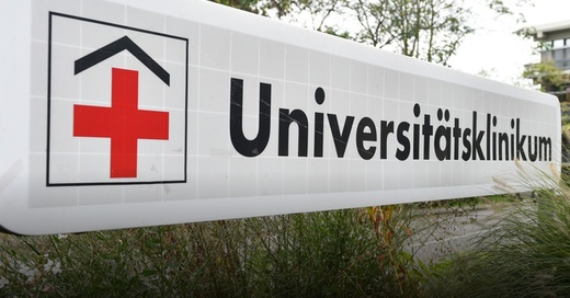 Universitätsklinikum, Uniklinik, Krankenhaus, © Uwe Anspach - dpa (Symbolbild)