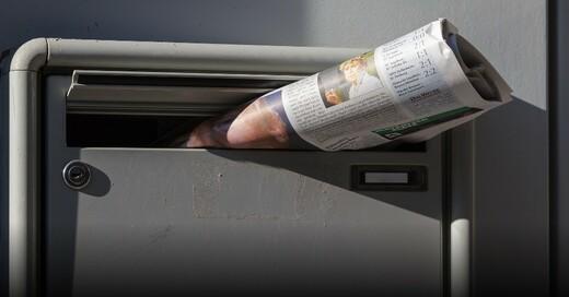 Briefkasten, Zeitung, © Pixabay (Symbolbild)