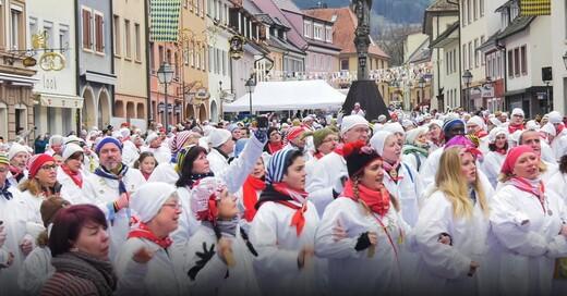 Stadtwette, Waldkirch, Klepperle, Fasnet, Hemdglunker, © baden.fm