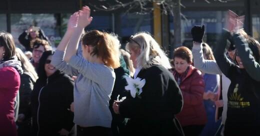 One Billion Rising, Flashmob, Bad Krozingen, © baden.fm