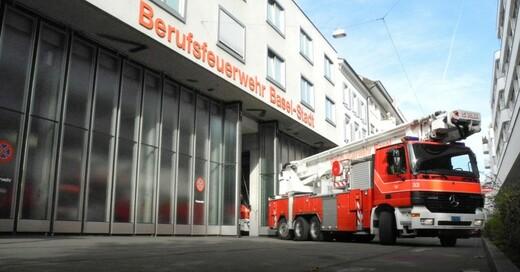 Feuerwehr, Basel, Stadt, © Juri Weiss - Kanton Basel-Stadt (Symbolbild)