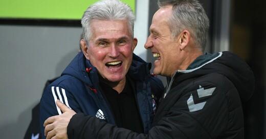 Jupp Heynckes, Christian Streich, SC Freiburg, FC Bayern München, © Patrick Seeger - dpa