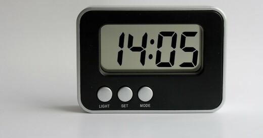 Uhr, Radiowecker, Digitaluhr, © Pixabay