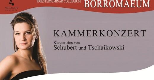 Kammerkonzert, Schubert, Tschaikowski, Denis Zhdanov, Uliana Zhdanov, Dmitri Demiashkin , © Veranstalter