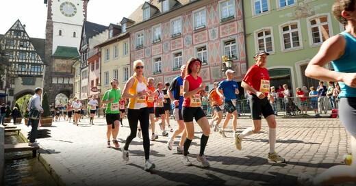 Mein Freiburg Marathon, Lauf, © Schoener - FWTM