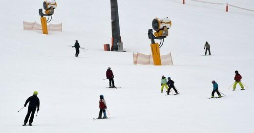 Feldberg, Schnee, Wintersport, Skipiste, © Patrick Seeger - dpa (Symbolbild)