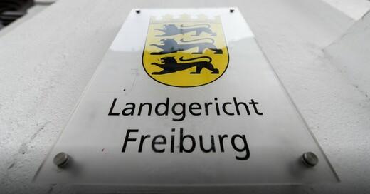 Landgericht Freiburg, Justiz, © Patrick Seeger - dpa