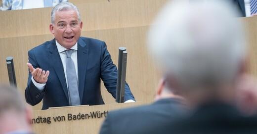 Thomas Strobl, Innenminister, Baden-Württemberg, © Sebastian Gollnow - dpa