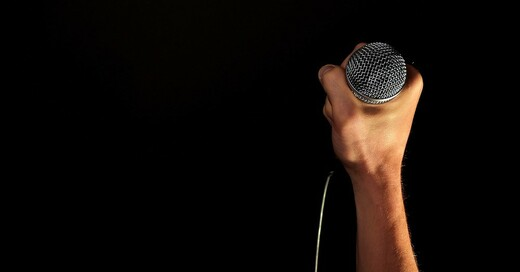 Gesang, Sänger, Mikrofon, © Pixabay (Symbolbild)