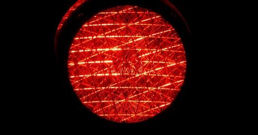 Rotlicht, Rot, Ampel, © Pixabay (Symbolbild)