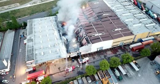 Rauch, Großbrand, Füllinsdorf, © Kantonspolizei Basel-Landschaft