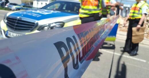 Wehr, Bombenattrappe, Absperrung, Polizei, © Erika Bader - dpa