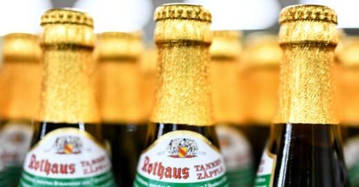 Rothaus, Pils, Tannenzäpfle, Bier, Alkohol, © Patrick Seeger - dpa