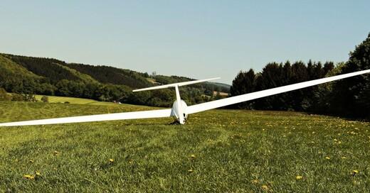 Segelflugzeug, Segelflieger, Flugplatz, © Pixabay (Symbolbild)