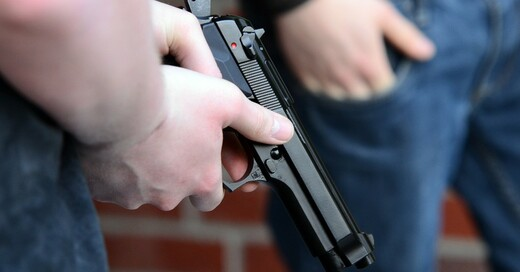Waffe, Pistole, Überfall, © Pixabay (Symbolbild)