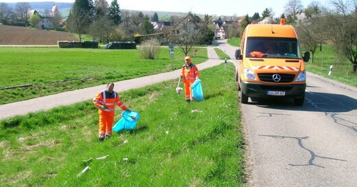 Lörrach, Straßenmeisterei, Müll, Abfall, © Landkreis Lörrach