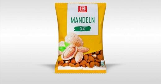 Mandeln, Rückruf, Salmonellen, © Kaufland Deutschland
