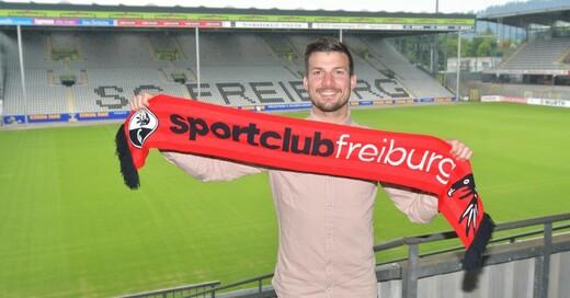 Jerome Gondorf, SC Freiburg, © Achim Keller - SC Freiburg