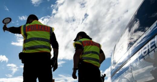 Polizei, Kontrolle, Bundespolizei, © Patrick Seeger - dpa (Symbolbild)