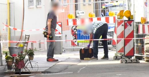 Koffer, Bombenverdacht, Polizei, Freiburg, © baden.fm