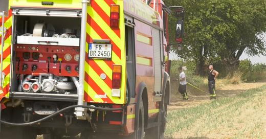 Feuerwehr, Flächenbrand, Ehrenstetten, © baden.fm