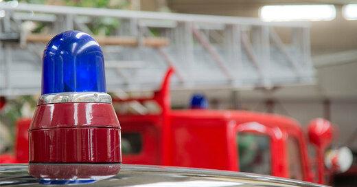 Feuerwehr Blaulicht , © Pixabay ( Symbolbild)