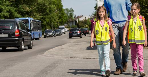 Schulweg, ADAC, Sicherheit, © ADAC