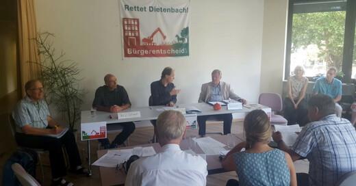 Bürgerinitiative, Rettet Dietenbach, Stadtteil, © baden.fm