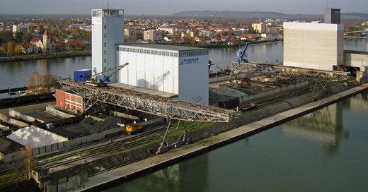 Rheinhafen, Basel, Kleinhüningen, © Juri Weiss - Staatskanzlei Basel-Stadt