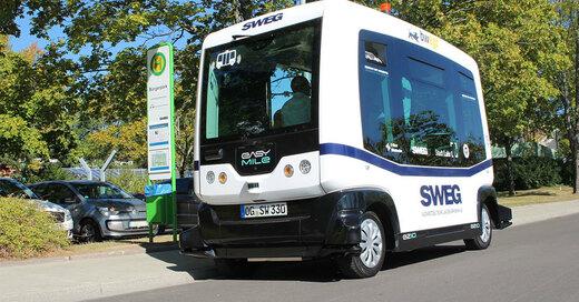 SWEG, Bürgerbus, Autonomes Fahren, Lahr, © Südwestdeutsche Landesverkehrs-AG