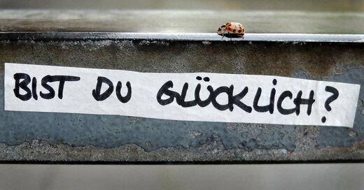 Glück, Glücksatlas, Marienkäfer, © Martin Gerten - dpa (Symbolbild)