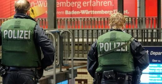 Polizei, Bundespolizei, Bahnhof Offenburg, © Lukas Habura - dpa (Symbolbild)