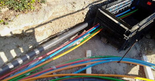 Glasfaserkabel, Breitband, Ausbau, Bad Bellingen, © Zweckverband Breitbandversorgung Landkreis Lörrach