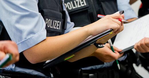 Polizei, Ausbildung, Anwärter, © Daniel Karmann - dpa (Symbolbild)