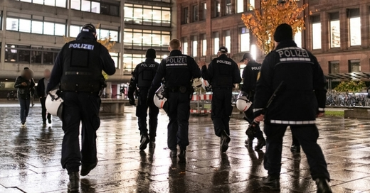 Polizei, Freiburg, Uni Freiburg, © Patrick Seeger - dpa (Symbolbild)