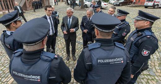 Sicherheitspartnerschaft, Freiburg, Polizei, Gemeindevollzugsdienst, © Patrick Seeger - dpa