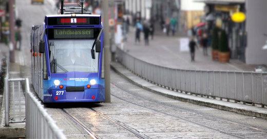 Straßenbahn, Freiburg, Linie 1, Landwasser, © baden.fm (Symbolbild)