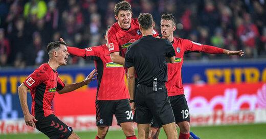 Werder Bremen, SC Freiburg, Unentschieden, © Patrick Seeger - dpa