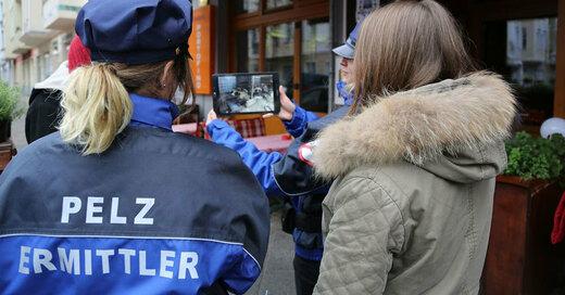 Pelz, Tierschutz, Tierschützer, Polizei, © Deutsches Tierschutzbüro