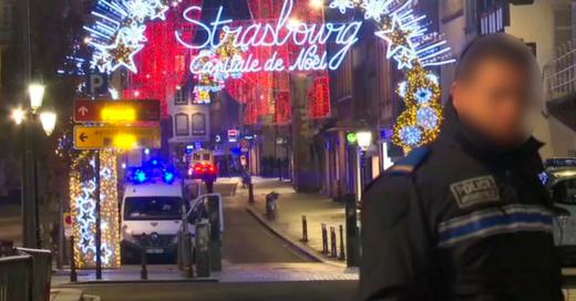 Terroranschlag, Straßburg, Weihnachtsmarkt, © aptn - AP / dpa