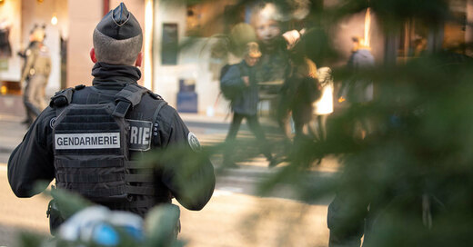 Gendarmerie, Frankreich, Polizei, © Sebastian Gollnow - dpa (Symbolbild)