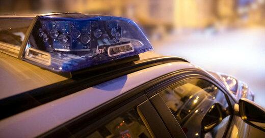 Polizei, Einsatz, Blaulicht, © Daniel Karmann - dpa (Symbolbild)