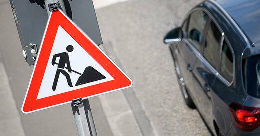 Verkehr, Baustelle, Stau, © Sebastian Gollnow - dpa (Symbolbild)