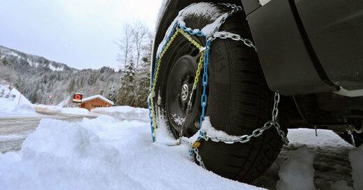 Schneeketten, Winter, Eis, Glätte, © Karl-Josef Hildenbrand - dpa (Symbolbild)