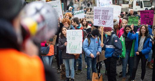 Klimaschutz, Demonstration, Freiburg, Schüler, © Patrick Seeger - dpa