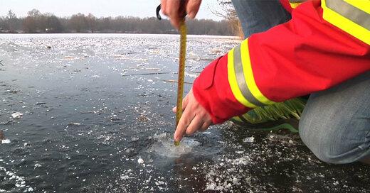 Eis, See, Wasser, Winter, © baden.fm - Symbolbild