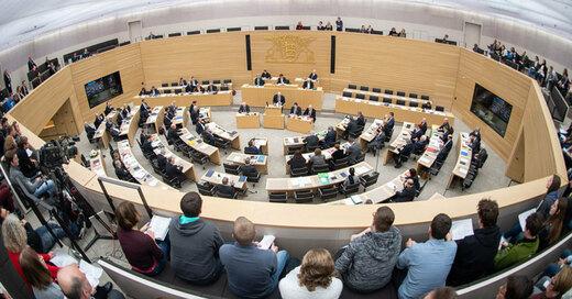 Stuttgart, Landtag, Baden-Württemberg, © Sebastian Gollnow - dpa (Symbolbild)