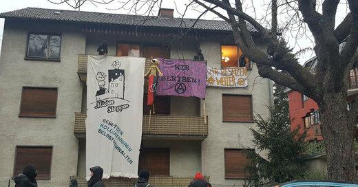Hausbesetzung, Klarastraße, © Die WG Freiburg-Wohnraumgestalten