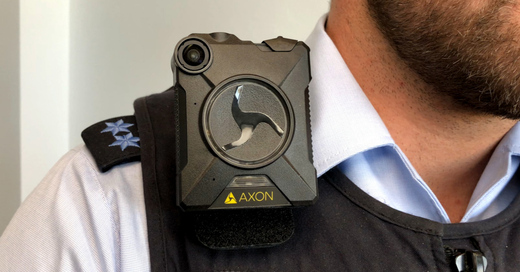 Bodycam, Polizei, Uniform, Kamera, © baden.fm