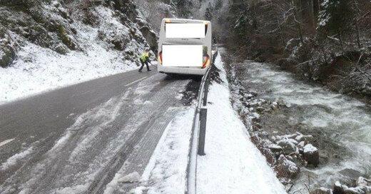 Bus, Unfall, Wehr, Wehratal, © Polizeipräsidium Freiburg